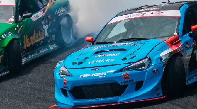 Formula Drift 2018 Finals Roll Into Irwindale