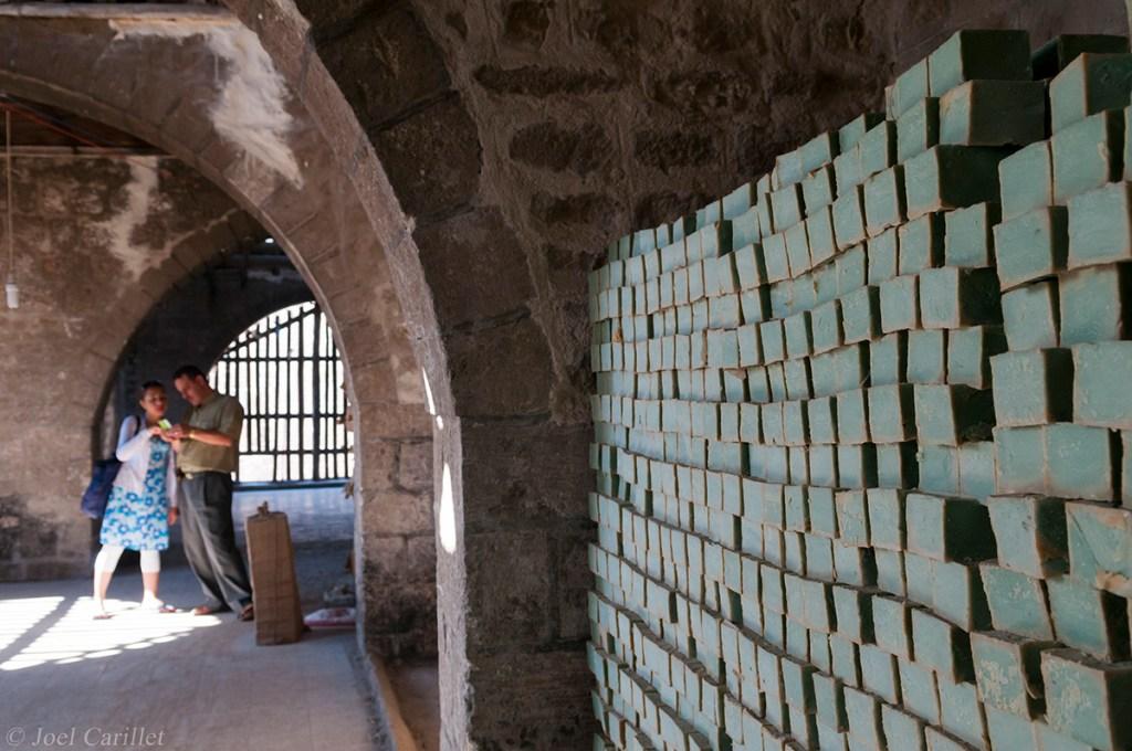 Soap factory in Aleppo, Syria