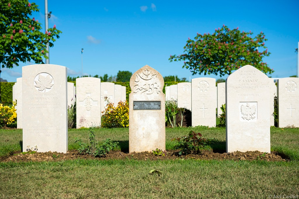 Commonwealth cemetery in Bayeux, Normandy