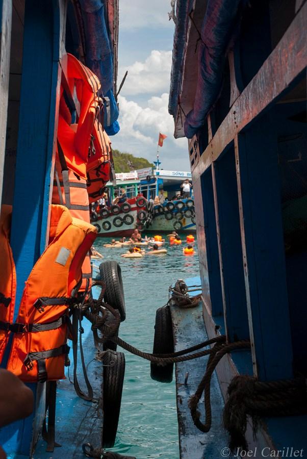 Boat trip in Nha Trang, Vietnam