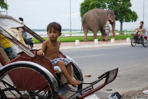 Boy in Phnom Penh, Cambodia