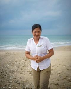 Woman at Jimbaran Beach, Bali