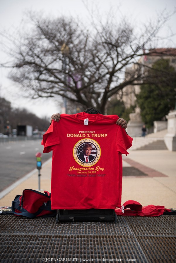 Trump Inauguration t-shirt 2017