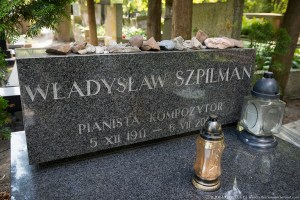 "The Grave Of Wladyslaw Szpilman, ""The Pianist"""