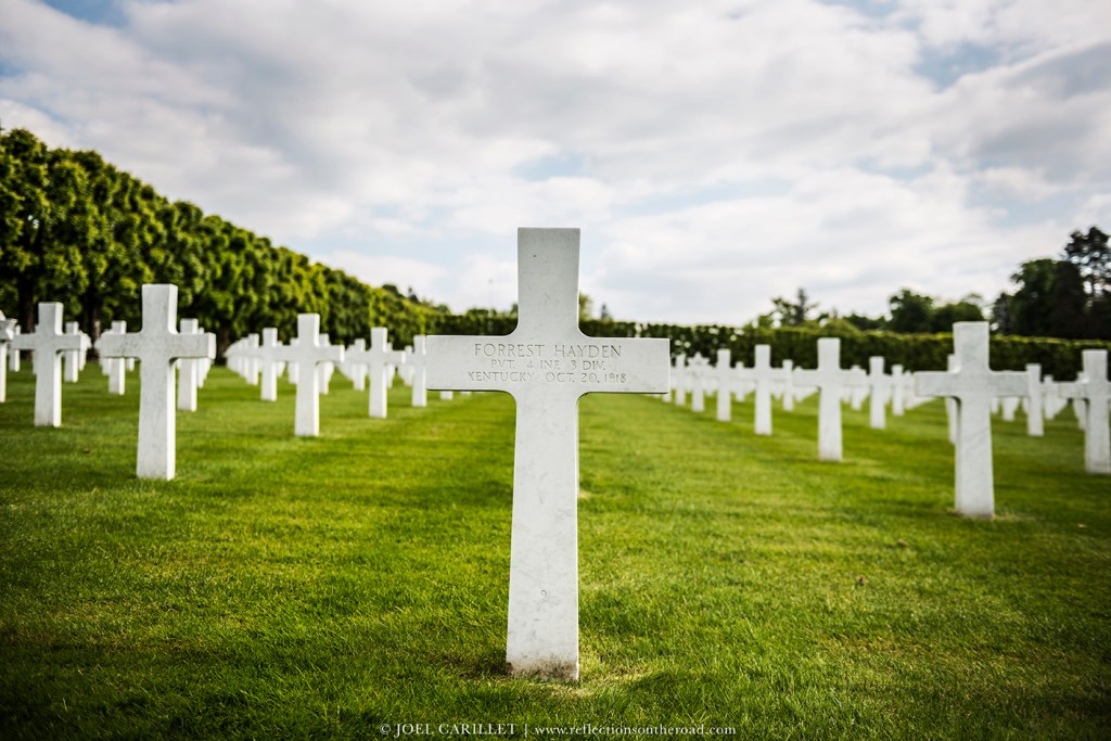 American soldier killed in WWI and buried in France