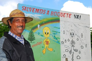 Jose Pretto and Tweety Bird in Boquete; Panama