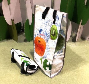 New Design Idea: Carrefour Promotional Trolley Bags with Reflective Sides