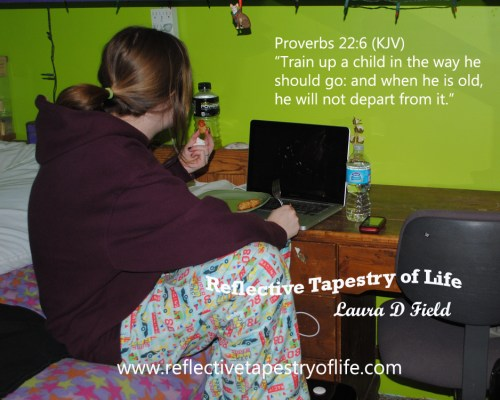 """Proverbs 22:6 (KJV)""""Train up a child in the way he should go: and when he is old, he will not depart from it."""""""