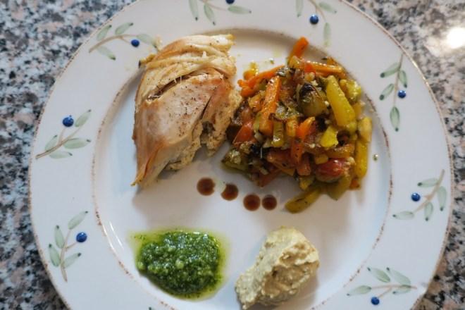 Kylling med rodfrugter