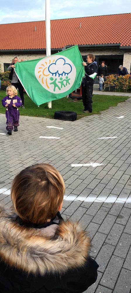 Miljøflag børnehave