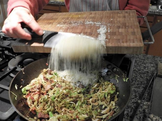 Tagliatelle med parmesan