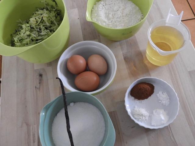 Squashkage - ingredienser