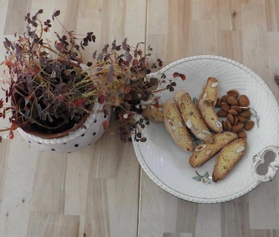Biscotti - hjemmebagte, langtidsholdbare småkager