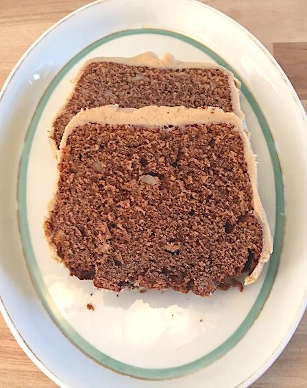 Chokoladekage med kaffeglasur