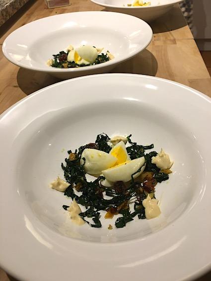 Tapas: æg i olivenolie
