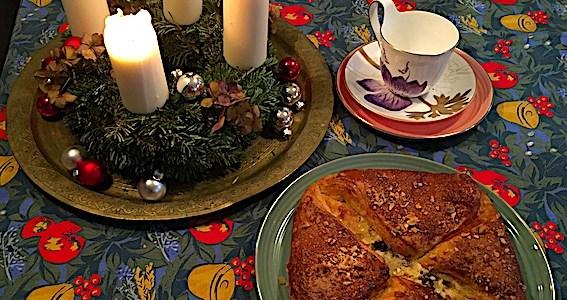 Julekage med appelsin og remonce