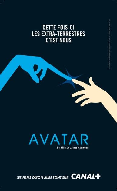 Canal + parodie affiche Avatar