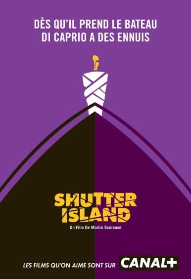 Canal + parodie affiche Shutter Island