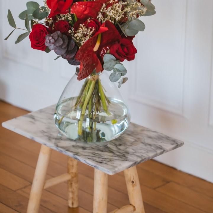Cherry le bouquet de fleurs à livrer dans toute la france avant 13H00 et à paris dans la journée
