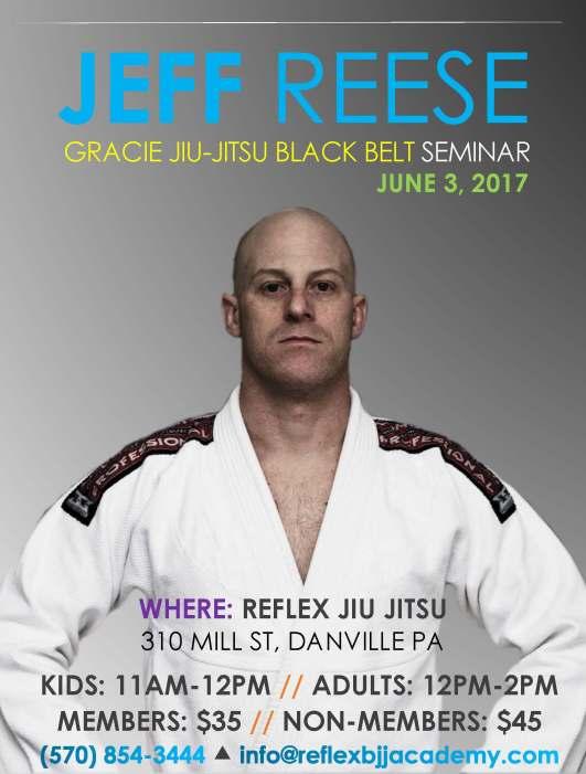 Black Belt BJJ seminar