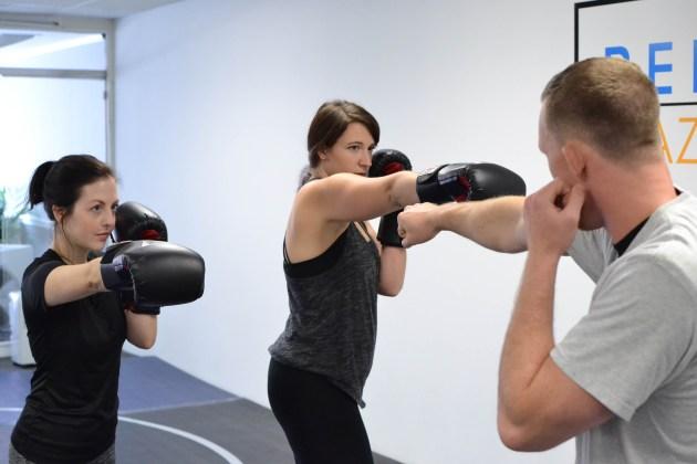 Reflex Kickboxing Class