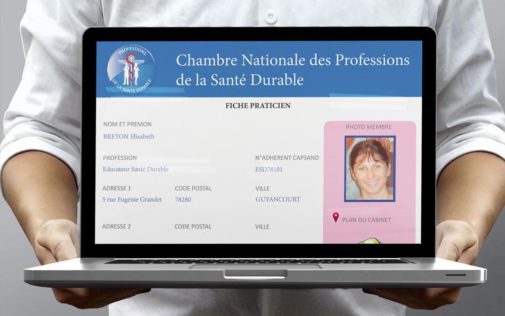 Partenariat avec la Chambre Nationale des Professions de la Sant Durable CAPSAND