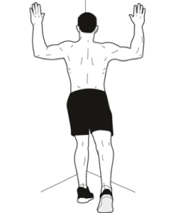 chest stretch after sitting down