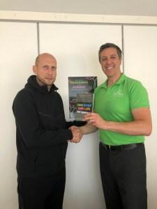 Andy Green Jaap Stam health & wellness book
