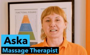 Reading Massage therapist Aska Gavaghan at Reflex Spinal Health