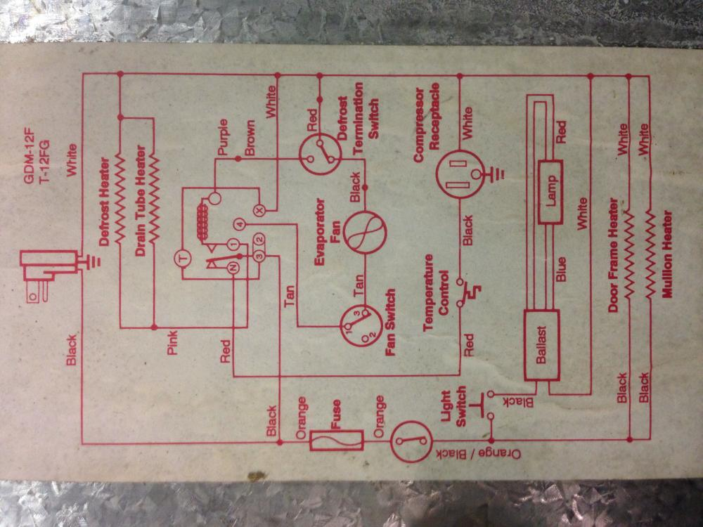 Ice Maker Wiring Diagram View Diagram True Freezer Wiring Diagram True