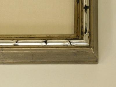 銀箔貼り・メノウ磨き
