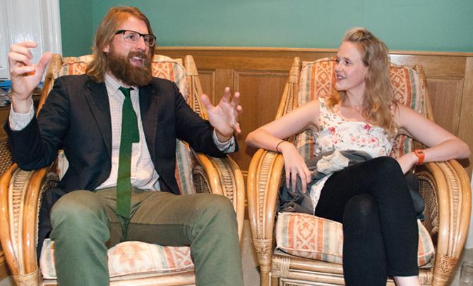 Pippa Evans & Sanderson Jones interview: How great thou aren't