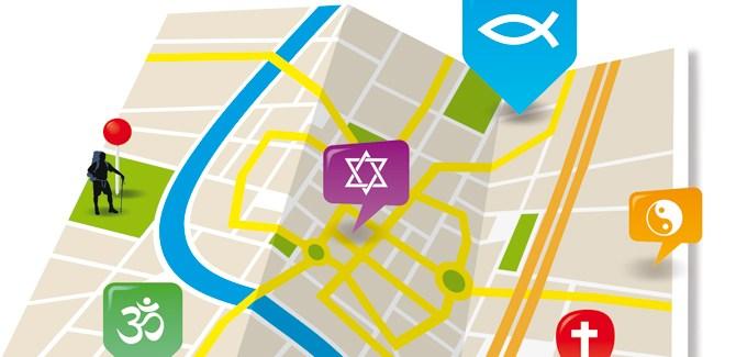 Map-reading for pilgrims