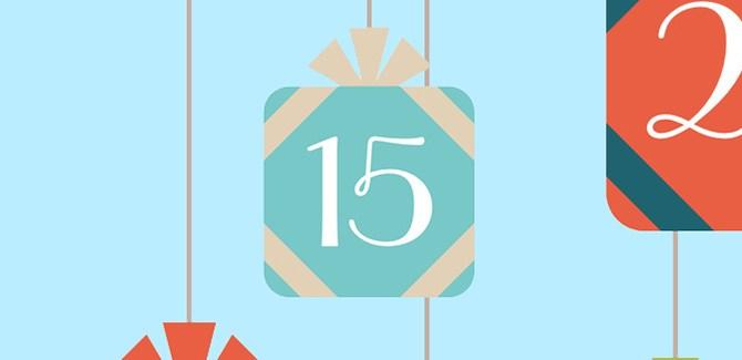 Commitment-Phobe: Advent challenge, day 15