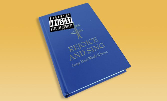 Jumble sales of the apocalypse: Rude hymns