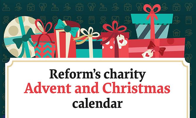 Reverse Advent and Christmas calendar 2019