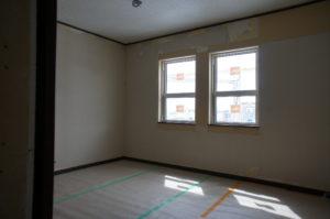 新しい部屋内部