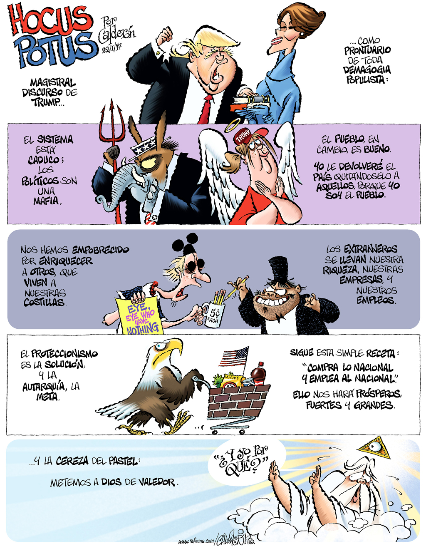Hocus POTUS - Calderón