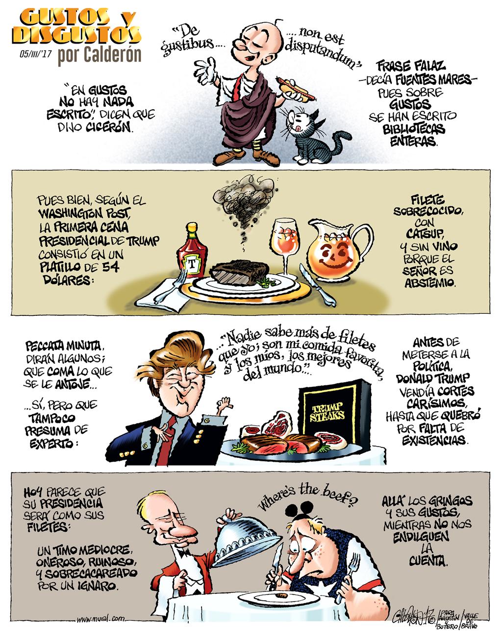 Gustos y disgustos - Calderón