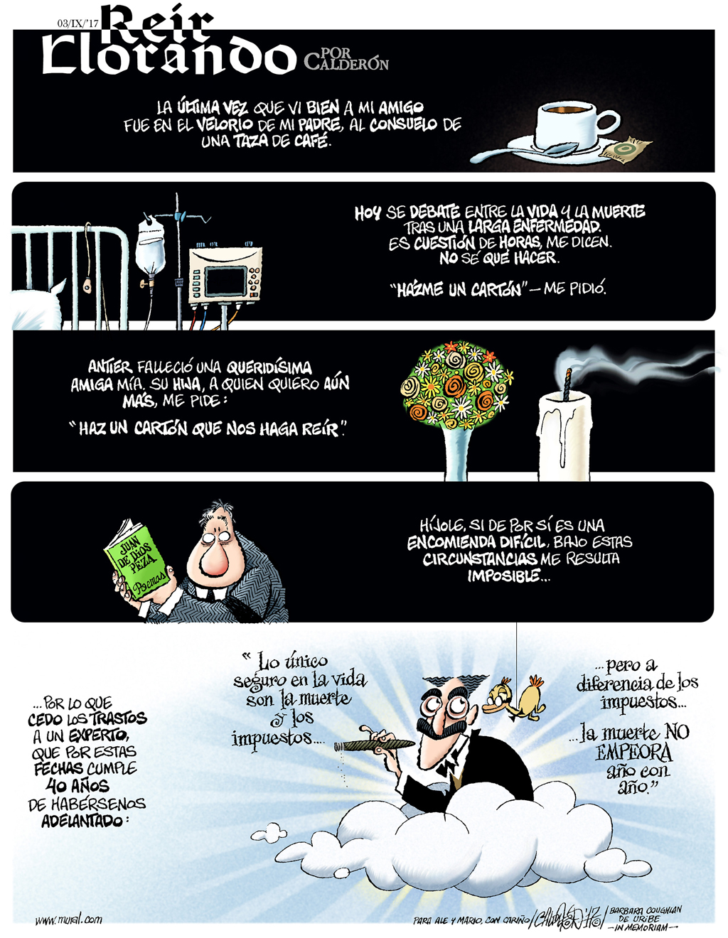 Reír llorando - Calderón