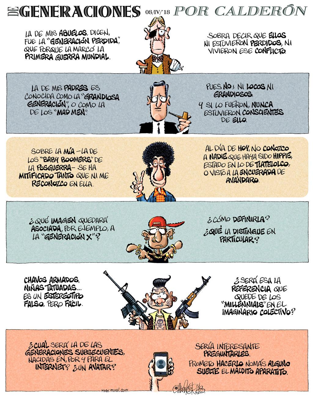 De generaciones - Calderón