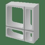 Elemento Vazado de Concreto modelo Geométrico