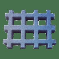 Pisograma ou concregrama quadriculado direto da fábrica