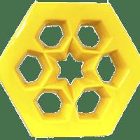 Cobogós Elementos Vazados Esmaltados Modelo Musharabi