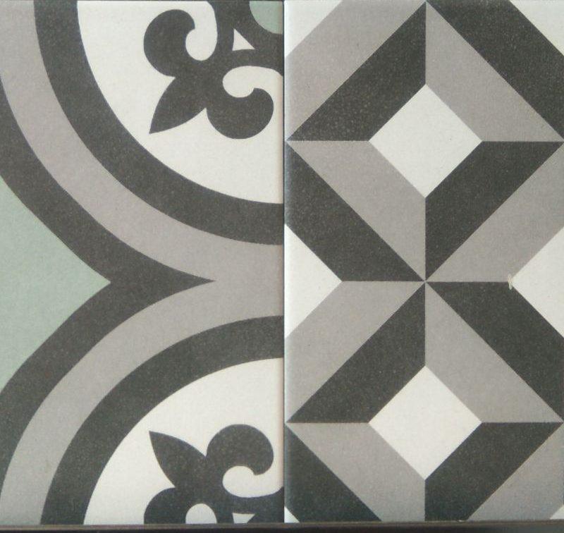 Se reinventan los mosaicos hidráulicos