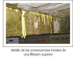 Filtración superior
