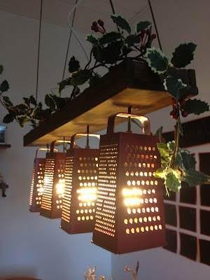 Ralladores metálicos para una iluminación de estilo industrial