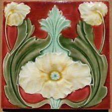Azulejos antiguos -flor