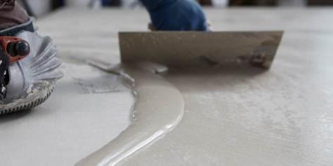 microcemento en suelos