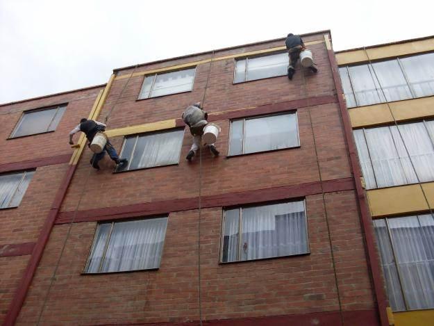 Mantenimiento de fachadas de edificios